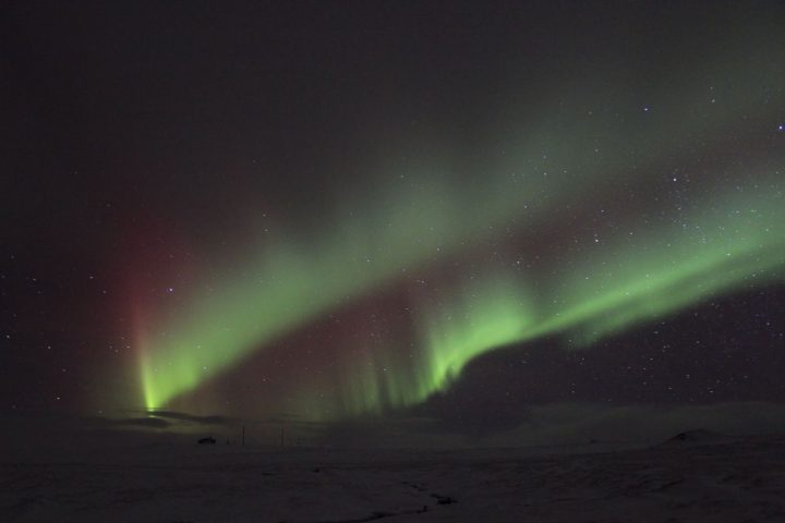 Aurores boreales - Hveravellir - Islande - Erwan Le Berre