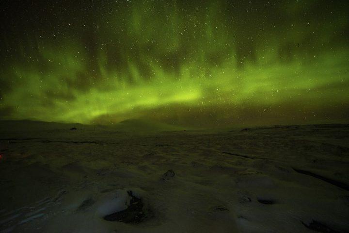 Aurores boreales - Hveravellir - 80 Jours Voyages - Stephane Chopin