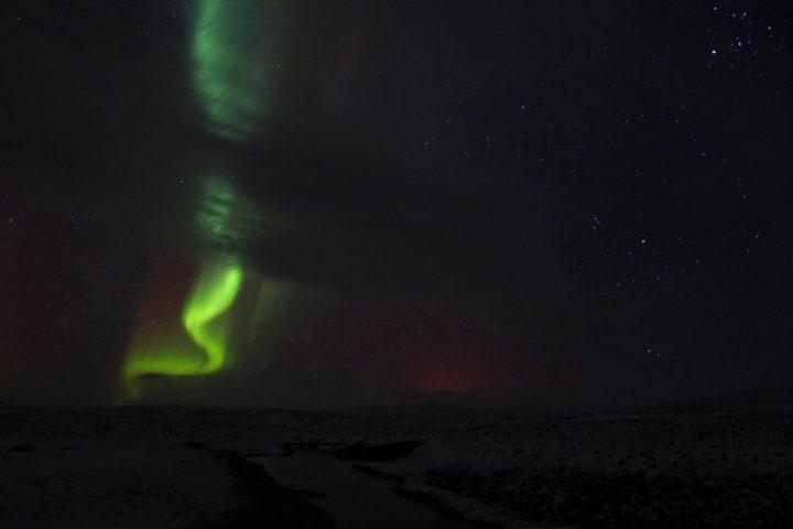 Aurore boréale, Islande, Hveravellir, 80 jours voyages