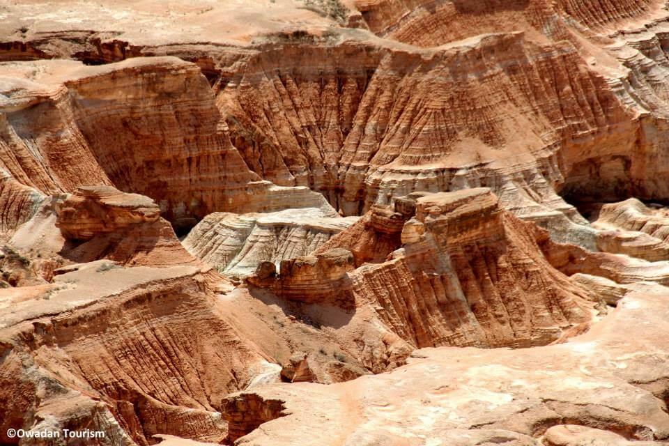 Canyons de Yangisuw Turkmenistan – 80 Jours Voyages.