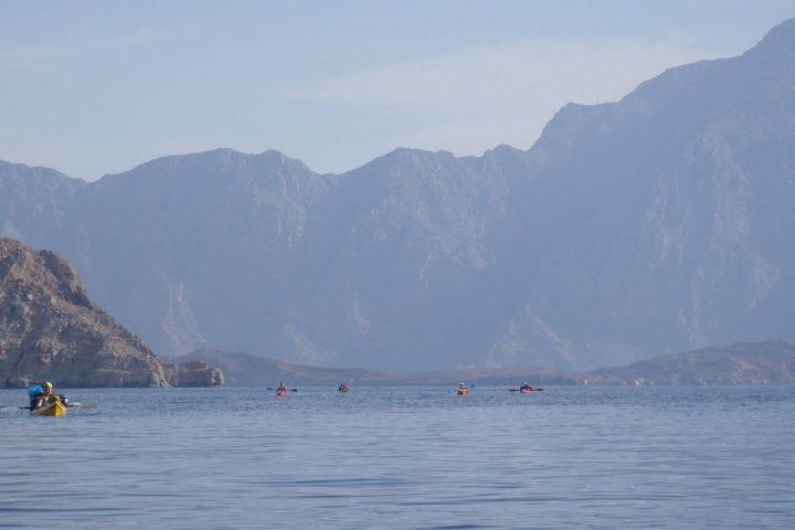 Oman - Kayak en baie de Sham
