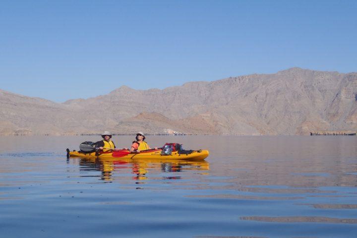 Kayak à Oman- 80 Jours Voyages