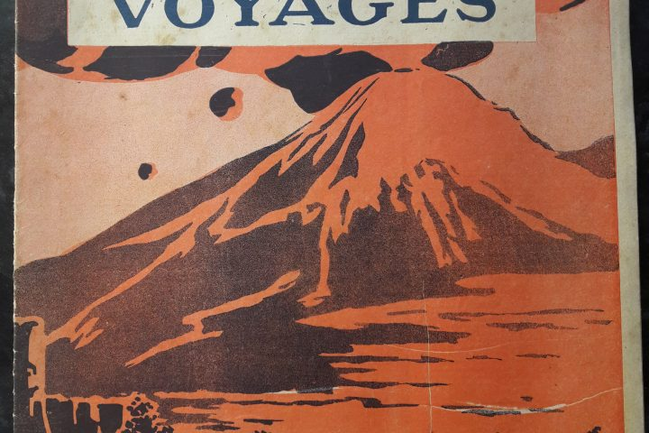 Sciences et voyages - volcans - couverture - 80 Jours Voyages