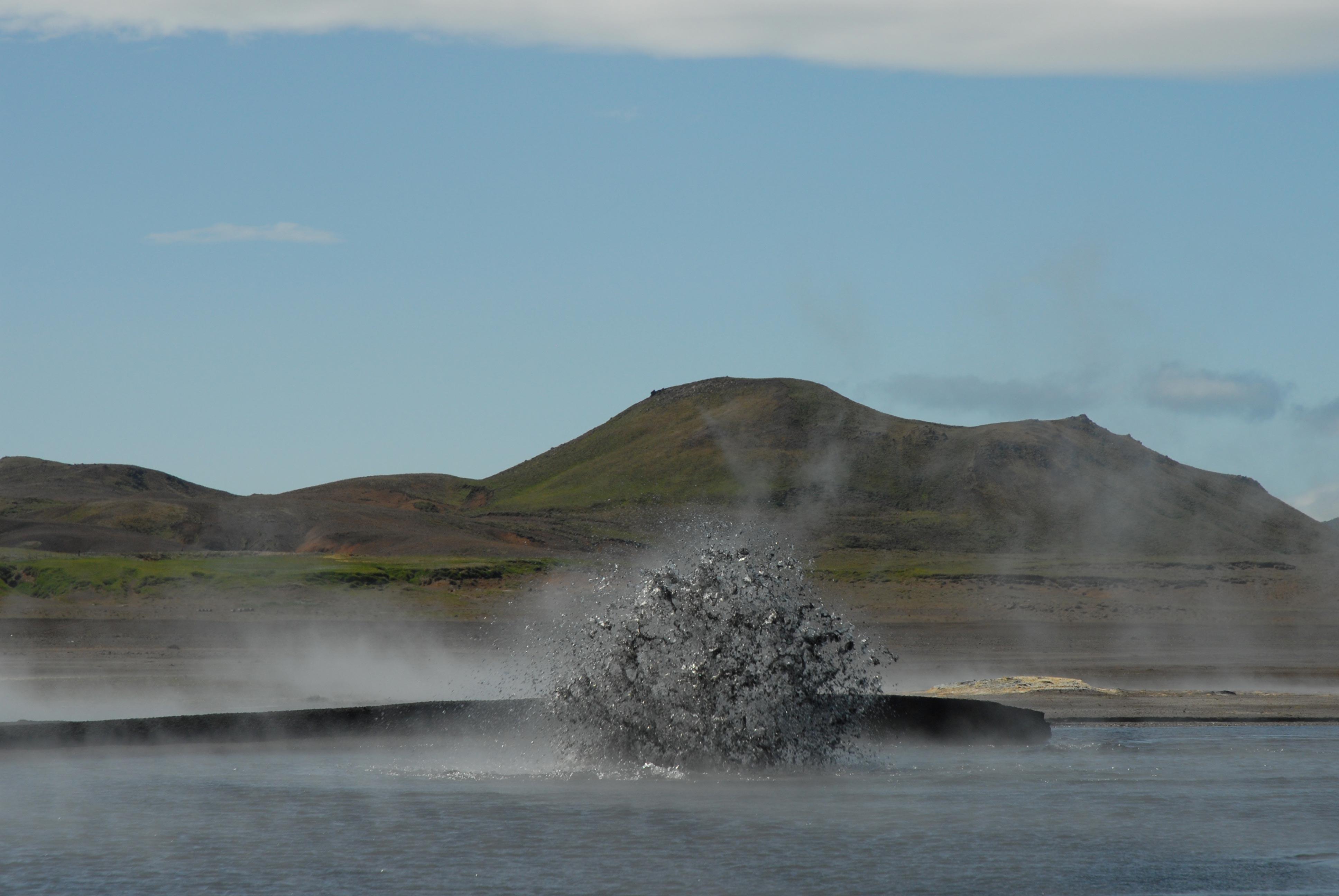 Geothermie Keflavatan Island, Islande eruption Keflavatan