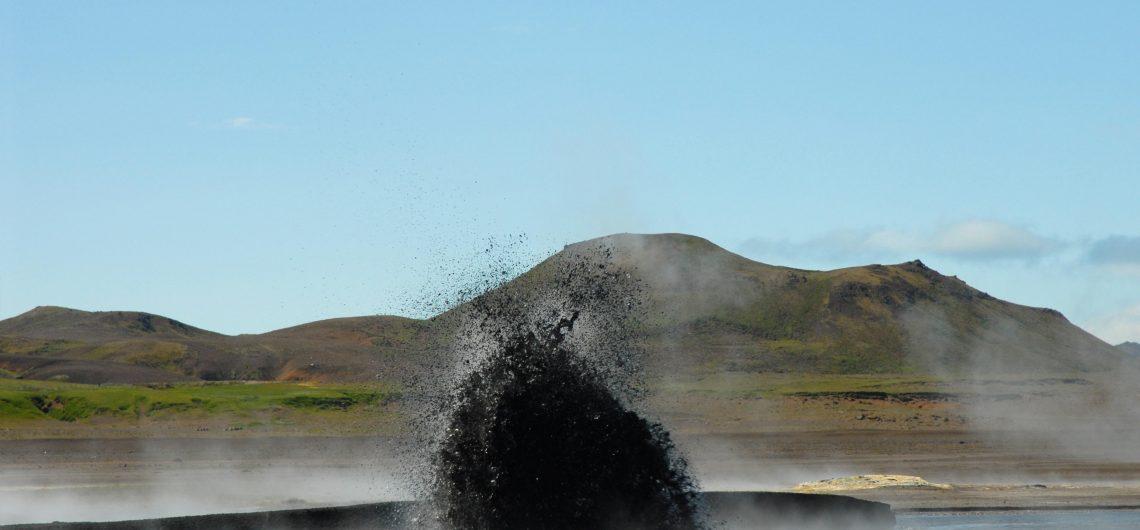 Geothermie Kleifarvatn Islande, Islande eruption lac Kleifarvatn