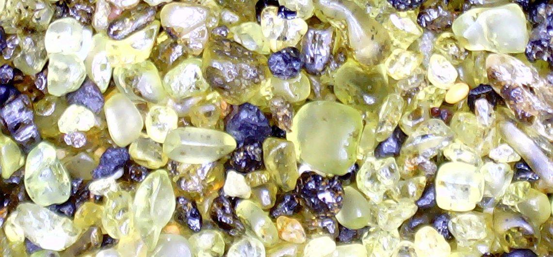 sable, arénophile, olivine, geochronique philippe thiran